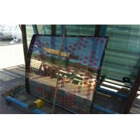 4mm 5mm 6mm Double Curved Tempered Glass Panels For Exhibition