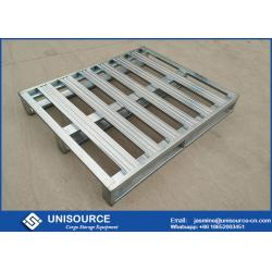 China Heavy Duty Galvanized Steel Pallets ,  Metal Steel Plate Stackable Metal Pallets on sale