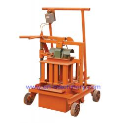 China Concrete Brick Making Machine 2-45 Small High Quality Egg Laying Hollow Block Machine on sale