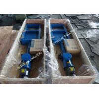 316 Stainless Steel Electric Fan Shaped Gate , 3KW Power Electric Flat Gate