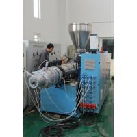 Conic PVC SJSZ65/132 Plastic Extrusion Machine For Water Drainge Pipe