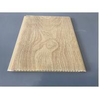 10 Inch × 7.5mm PVC Ceiling / Wall Panel Peanut Wood Pattern Smooth Slab