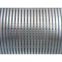 Supply v wire wrapped Water Well Screens or wedge wire screens