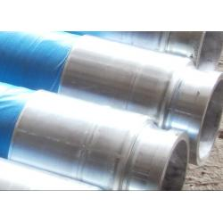 China High Flexibility Concrete Pump Hose Fittings , 4Ply Steel Wire Braided Rubber Hose on sale