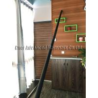 High strength carbon fiber telesopic pole for roof gutter cleaning, tapered carbon tube for gutter cleaning