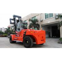 Diesel Engine 40 Ton Forklift , Container Lifting Forklift Customised Color