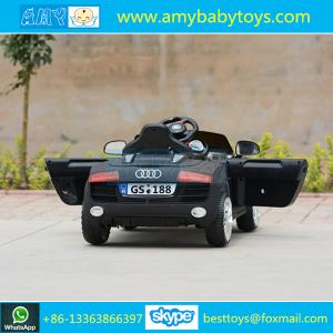 factory wholesale cheap price passed approved by ce en71 audi kids electric car children toys car
