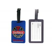 Custom Twinco Promotional Soft Pvc Luggage Tag, Personalized Luggage Tags
