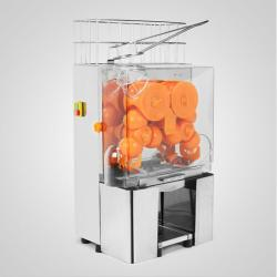 China 120W Fresh Squeezed Orange Juice Vending Machine Auto Feed Hopper on sale