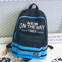 Schoolbag female han edition hits color street backpacks college wind schoolbag canvas backpack leisure computer bag