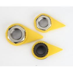 China Standard PU Loose Wheel Nut Indicator Heat Sensitivity Lug Nut Torque Indicators on sale