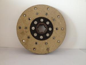 Precision Gray Tractor Spare Parts clutch disc / tractor repair parts