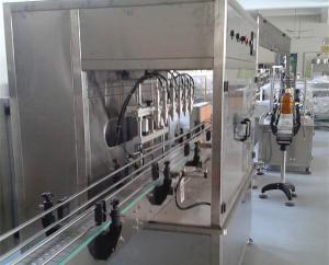 Fully Auto Liquid Filling Machine for Tea / Oil , Oil Packing Machine