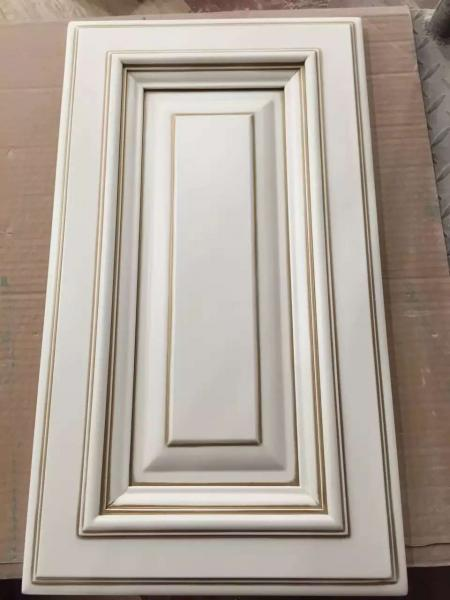 Solid Wood Door Panel Glazed Kitchen Cabinet Door American