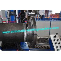 High Efficiency Automatic Welding Machine For Torch Pipe / Elbow / Flange Saw