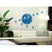 3M Removable Vinyl Foreign Design Wall Sticker Clock / Non - Toxic stickers 25A005