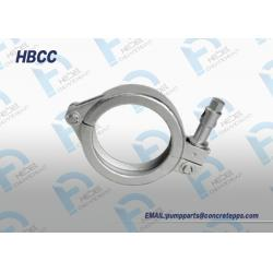 China Concrete pump pipe clamp,clamp coupling, screw clamp for concrete pump on sale