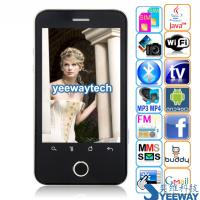 Tian Xing A3000 Quad Band Dual Cards Dual Standby Single Camera GPRS WIFI JAVA A-GPS Bluetooth Analog TV Android 2.2 OS 3.3-inch Touch Screen Smart Phone