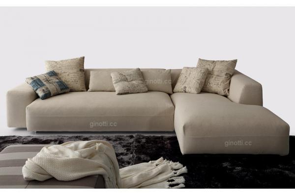 Los sofás modernos de la tela de los muebles caseros fijaron, sofá ...
