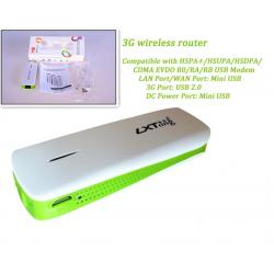 China 3G Hotspot Mini WiFi AP 3G Wireless Router with 1800mAh Power Bank on sale