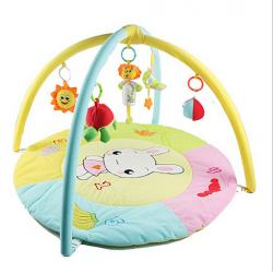 China Personalized Rabbit Bunny Baby Activity Play Gym with Soft Material on sale