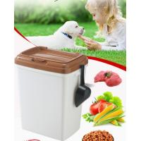 40L 15kgs 17lbs high quality stocked customized pet food storage container bucket dispenser dog food can box for dog cat