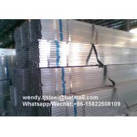 ASTM A53 SHS hot dip galvanized steel pipe/tube Q195 TIANJIN Original
