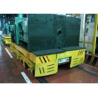 Inplant Mold Coil Handling Flat Cart Mounted Rail Matching Crane Forklift