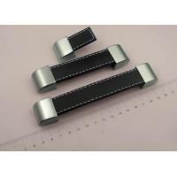 Genuine leather furniture handles zinc cabinet handle luggage handle hardware accessories