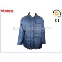 Outdoor Windproof Mens Long Winter Coats Parka For Factory Working