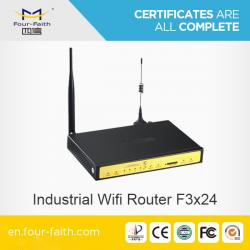 China 3G wireless wifi Router with sim card slot & serial port F3424 for M2M application on sale