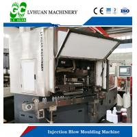8.5T Injection Blow Moulding Machine , Plastic Bottle Blow Molding Machine