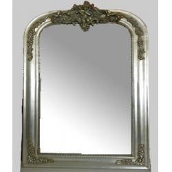 Design decorative square wall mirror design decorative for Silver framed mirrors on sale