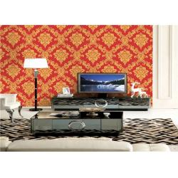 China Beautiful Floral Strippable Low Price Wallpaper Home Wall Paper For Home / Business on sale