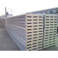 Waterproof  Polyurethane Roof Sandwich Panel Color Steel Sheet