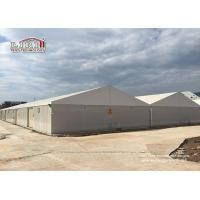 Heavy Duty  Warehouse Tent Aluminum PVC Temporary Motorhome Industrial Storage Tents