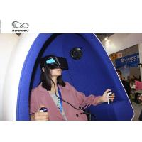 Amusement Park 9D Virtual Reality Simulator / Double Seats VR Egg Cinema