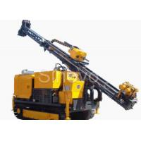 Hydraulic Crawl Diamond Core Drilling Machine , Drilling angle 60° - 90°