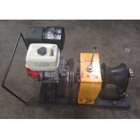 Petrol Engine Powered 5 ton winch machine / gasoline powered winch