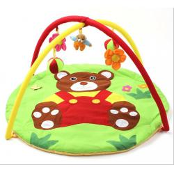 China Panda Soft Cotton Baby Play Gyms , Playmat And Gym For Babies on sale