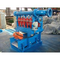 Drilling Mud Desilter separate clay and fine sand power in range of 0.0006 - 0.0016 inch