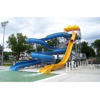 Playground Swimming Pool Water Curved Slide