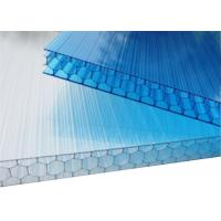Sound Insulation Honeycomb Clear Flat Polycarbonate Roof Panels Anti - Fog PC Board