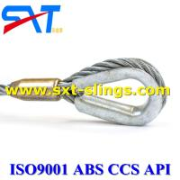 ungalvanized steel wire rope slings  with multi layers 8*61+IWR