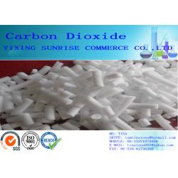 China Tasteless Smellless Animal Feed Additives CO2 Carbon Dioxide Solid CAS 124-38-9 on sale