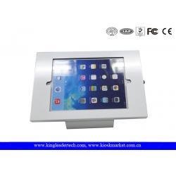 enclosure and simple stand desktop ipad enclosure, wall mounted