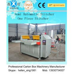 China Recycled Corrugated Cardboard Box Stapler Carton Stitching Machine on sale
