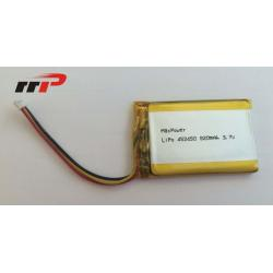 China 3.7v Lithium Polymer Battery Pack 820mAh , Lithium Polymer Car Battery on sale
