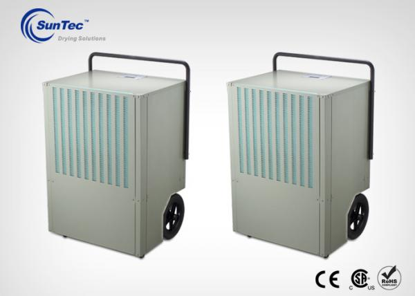 China 270 L / D Heavy Duty Compact Air Whole House Dehumidifier With Fixed Handle supplier