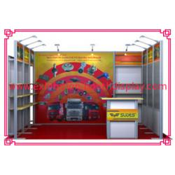 China Aluminum Portable Tradeshow Booths , Apparel Trade Show Display Booth on sale